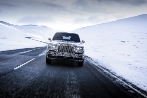 Cullinan – официальное название первой полноприводной модели Rolls-Royce