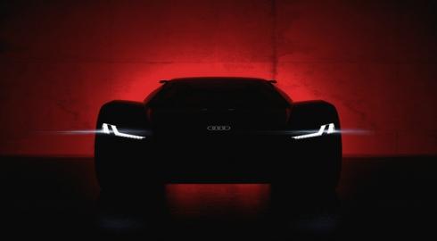 Мировая премьера шоу-кара Audi PB 18 e-tron