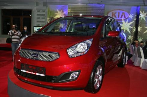 Продажи Kia Venga в России стартуют в марте