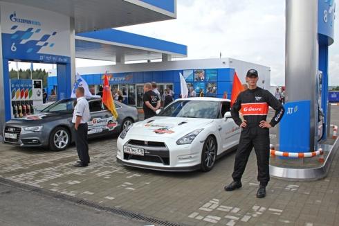 В Москве открыта первая автоспортивная АЗС «Газпромнефть»