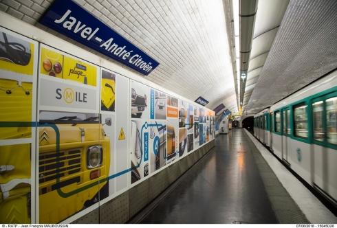 Новый культурный проект Citroën в парижском метро