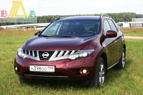 Nissan Murano New тест-драйв журнала «ВАШ ДРУГ - АВТОМОБИЛЬ»