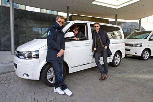 Музыканты группы A-HA отправились в прощальное турне на Volkswagen Multivan