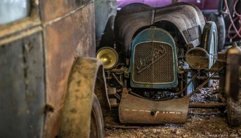 Бессценную коллекцию ржавых авто Роже Байона привезут в Москву