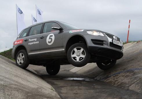 Volkswagen Off-road Experience в России.