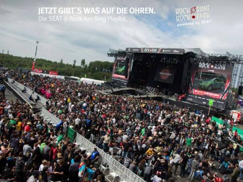 SEAT стал официальным партнером рок-фестиваля Rock am Ring 2013