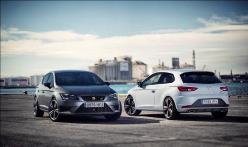 SEAT запускает рекламную кампанию нового мощного SEAT Leon Cupra