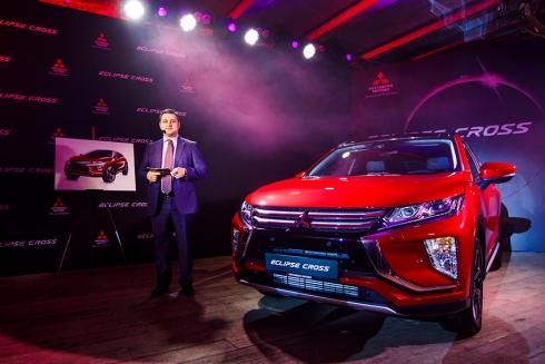 Старт продаж Mitsubishi Eclipse Cross в России