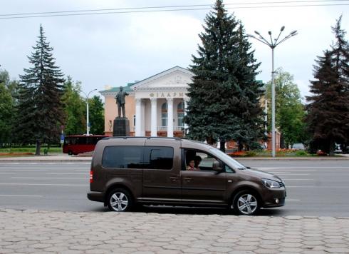 """С Volkswagen Caddy - на """"Славянский базар""""!"""