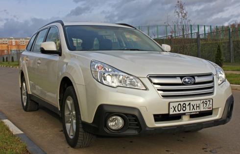 Специальный тест-драйв от Василия Буртового: Subaru Outback 2.5