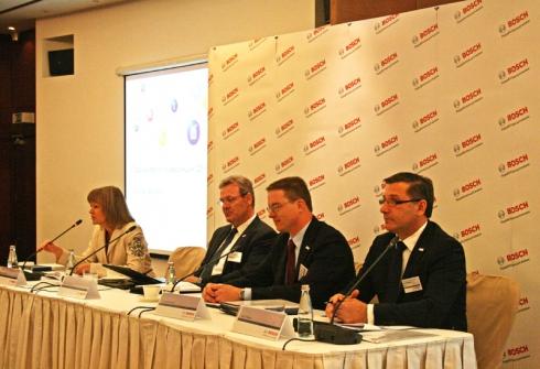 Годовая пресс-конференция Bosch 2014 в Москве