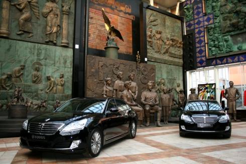 АвтоГЕРМЕС провел «Светский раут EQUUS» в крупнейшем современном центре искусств
