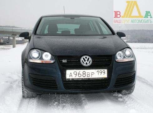 Специальный тест-драйв от Василия Буртового: Volkswagen Golf V Gt.