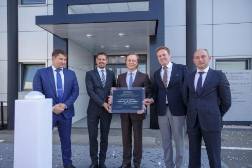 Новый сервисный партнёр по обслуживанию грузовиков Mercedes-Benz на российском рынке