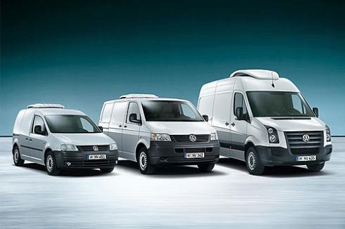 Volkswagen – лидер продаж коммерческих автомобилей.