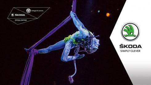 ŠKODA AUTO и Cirque du Soleil представляют шоу «ТОРУК – Первый полет»