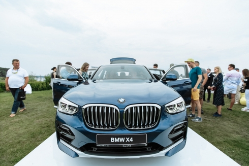 Презентация BMW X4 в БорисХоф