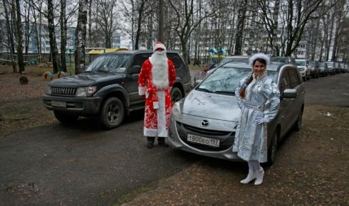 Новый год 2012 в Талдоме