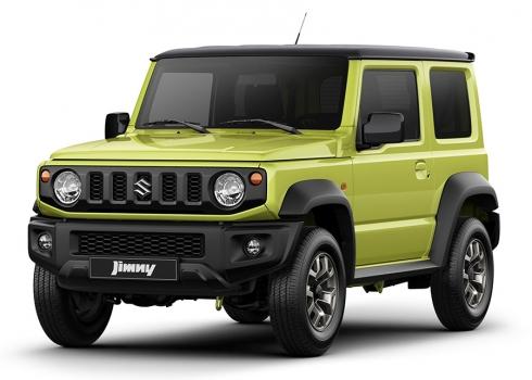 Новый ультралегкий и сверхкомпактный внедорожник Suzuki Jimny