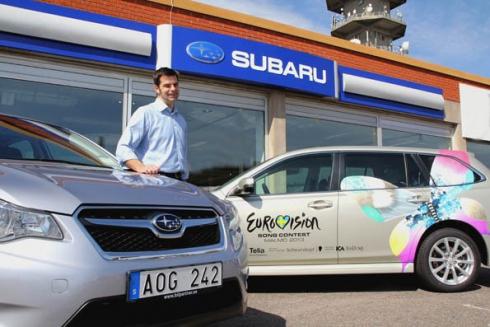 Subaru – официальный партнер песенного конкурса Евровидение-2013