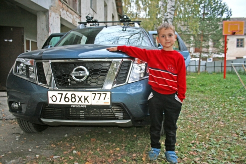 Благотворительный рейс в Новольвовск вместе с Nissan Terrano