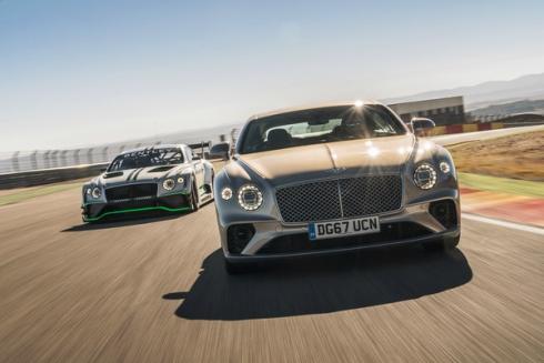 Дебют трех моделей Bentley на фестивале скорости