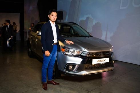 В Москве состоялась российская презентация Mitsubishi ASX