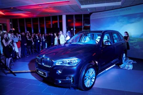 Свое трехлетие АВИЛОН BMW отпраздновал презентацией нового X5