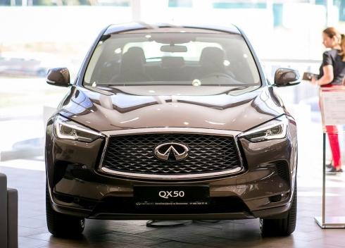 АвтоСпецЦентр INFINITI презентовал новый флагман бренда – INFINITI QX50