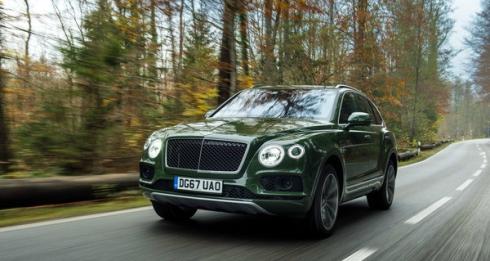 Bentley Bentayga Diesel теперь в России!