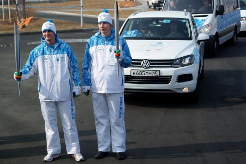 Volkswagen получил статус Представляющего партнера Эстафеты Паралимпийского огня