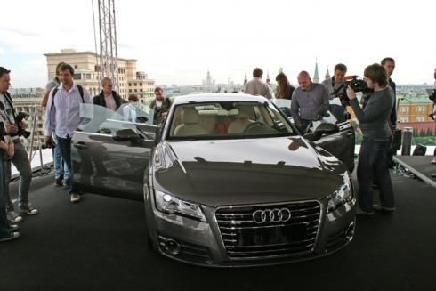 Audi A7 Sportback: российская премьера