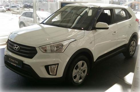Первые кроссоверы Hyundai Creta уже в наличии в дилерском центре «АВТОРУСЬ»!