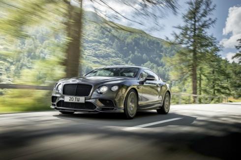 Новый Bentley Continental Supersports: самый быстрый четырехместный автомобиль в мире
