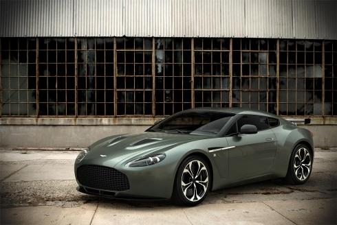 Дорожный Aston Martin V12 Zagato представлен на Автосалоне в Дубае