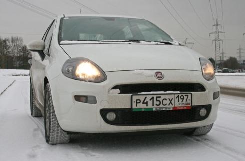 Тест-драйв «вне очереди»: Fiat Punto (5D 1,4 MT)