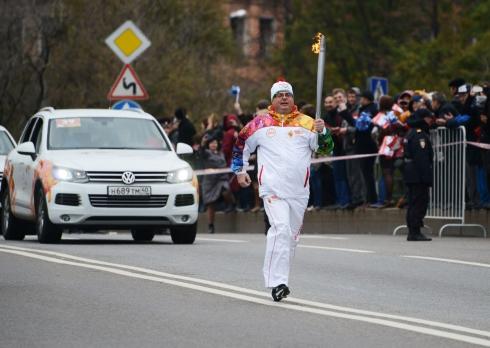 Volkswagen выходит на старт Эстафеты Олимпийского огня
