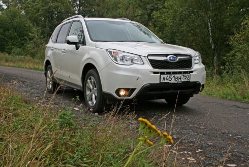 Как «Лесник» за грибами ездил: тест-драйв Subaru Forester (2.5i CVT)