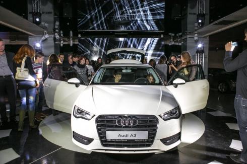 Ночь в Музее с Audi A3