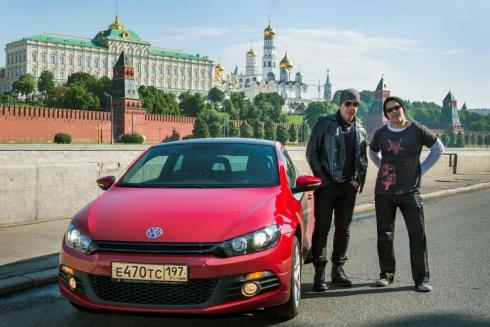 Volkswagen познакомил Rammstein с российской столицей