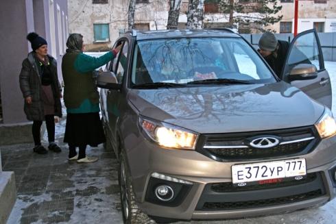 Помощь для Новольвовского Приюта вместе с Chery Tiggo 3
