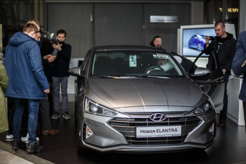 Презентация новой Hyundai ELANTRA прошла в АвтоСпецЦентр Hyundai