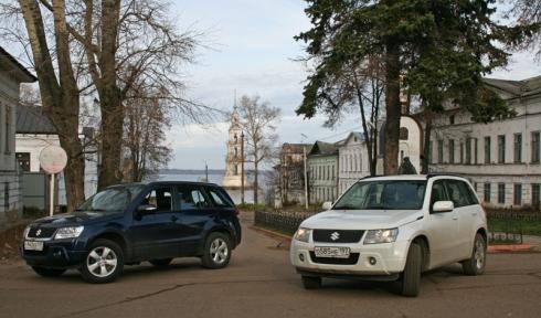 В гости в Калязин вместе с Suzuki