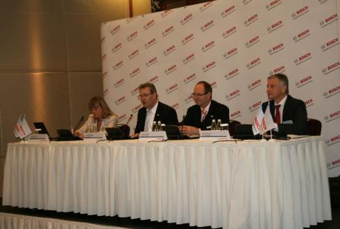 Bosch: Годовая пресс-конференция в Москве
