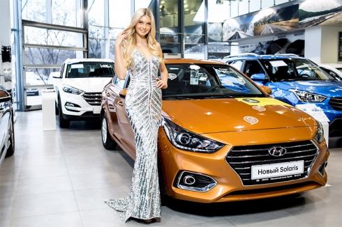 Директором дилерского центра АВИЛОН Hyundai стала «Мисс Россия» Полина Попова.