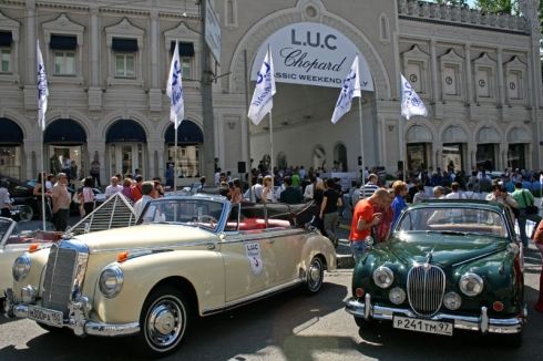 L.U.C CHOPARD CLASSIC WEEKEND RALLY 2011