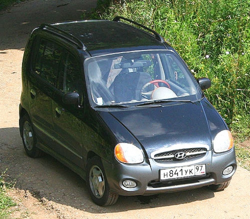 На Хюндай Атос едет Никитос (Hyundai Atos Europa)