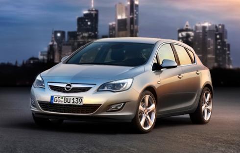 Новый Opel Astra.