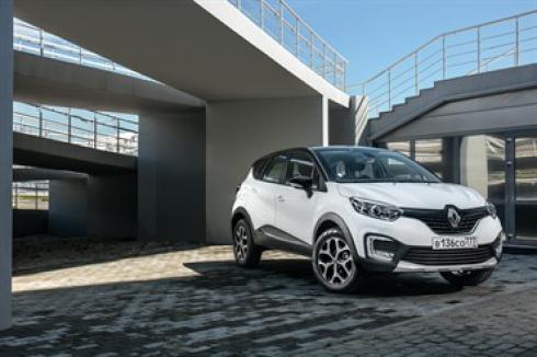 Renault открывает прием заказов на новый полноприводный кроссовер Renault Kaptur