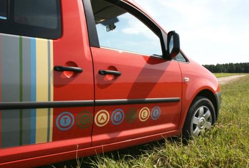 Volkswagen Caddy Tramper. «ВАШ ДРУГ - АВТОМОБИЛЬ».